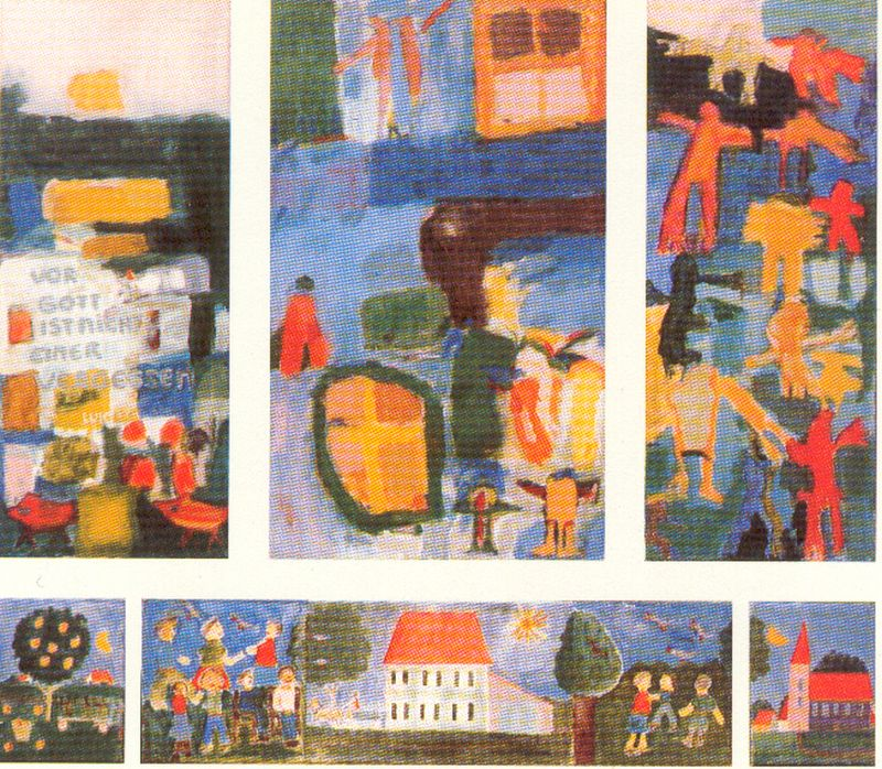 1985 Gedenktafel, Wilhelmsdorf