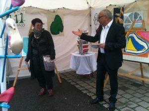 Kulturzelt, Einführung, Redner: Geraci und Leopold